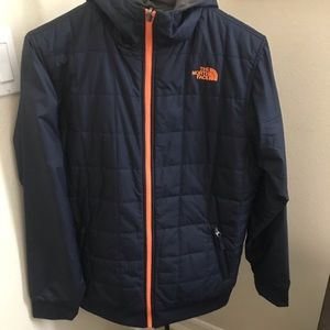 The North Face jacket reversible